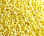 小米, 又叫粟米、稞子、秫子、黏米、白梁粟、粟谷