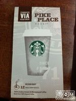 星巴克VIA派克市场烘焙免煮咖啡粉