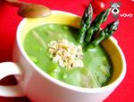 芦笋培根汤, 又叫减肥菜,西餐汤,浓汤
