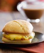 星巴克芝士蛋香包, 又叫Veggie & Monterey Jack Artisan Breakfast Sandwich