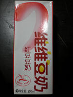 维维豆奶 红豆豆奶, 又叫红豆豆奶