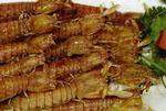 虾虎, 又叫虾虎、琵琶虾、虾蛄、虾爬子