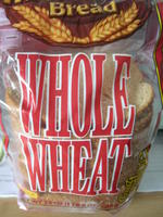 WHOLE WHEAT面包片, 又叫全麦面包片