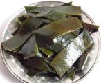 海带(浸), 又叫江白菜,昆布