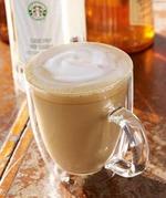 星巴克香草拿铁(大杯加脱脂奶), 又叫香草拿铁(大杯加脱脂奶)