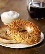 星巴克芝士硬面包圈, 又叫芝士贝果