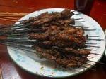 羊肉串(烤)