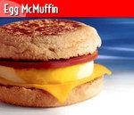 麦当劳鸡蛋松饼, 又叫Mcdonald's Egg McMuffin
