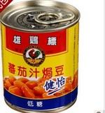 雄鸡标番茄汁焗豆(低糖), 又叫AYAM BRAND BAKED BEANS(LOW IN SUGAR)
