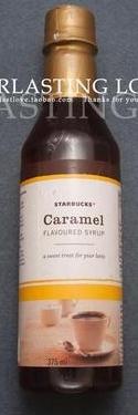 STARBUCKS 星巴克 焦糖味咖啡糖浆