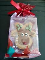 星巴克 圣诞姜饼糕点(仿麋鹿形)