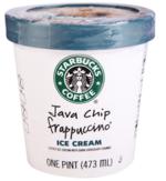 Starbucks星巴克爪哇星冰乐冰激凌, 又叫Starbucks Java Chip Frappucino Ice Cream