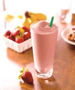 星巴克草莓星冰乐(无奶油)