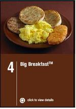 麦当劳大早餐, 又叫大早餐