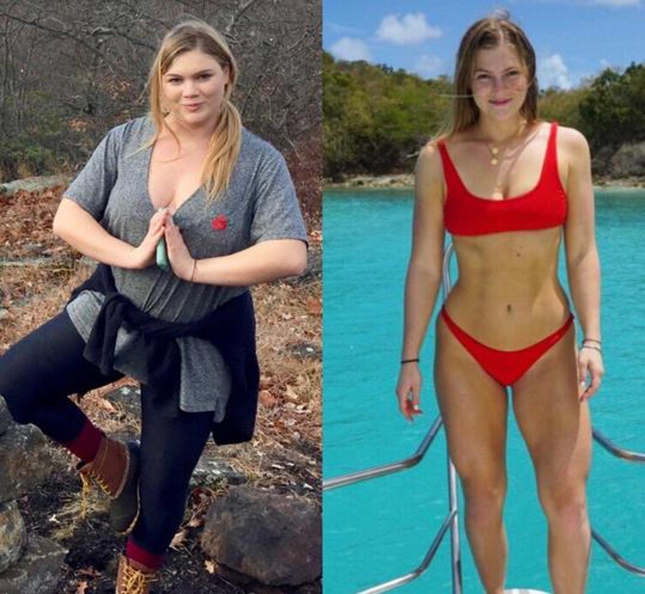 不应被体重定义快乐,美国肥妹靠健身变阳光美女