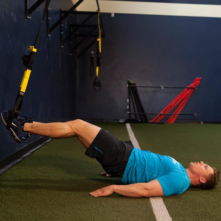 懸浮屈腿練習