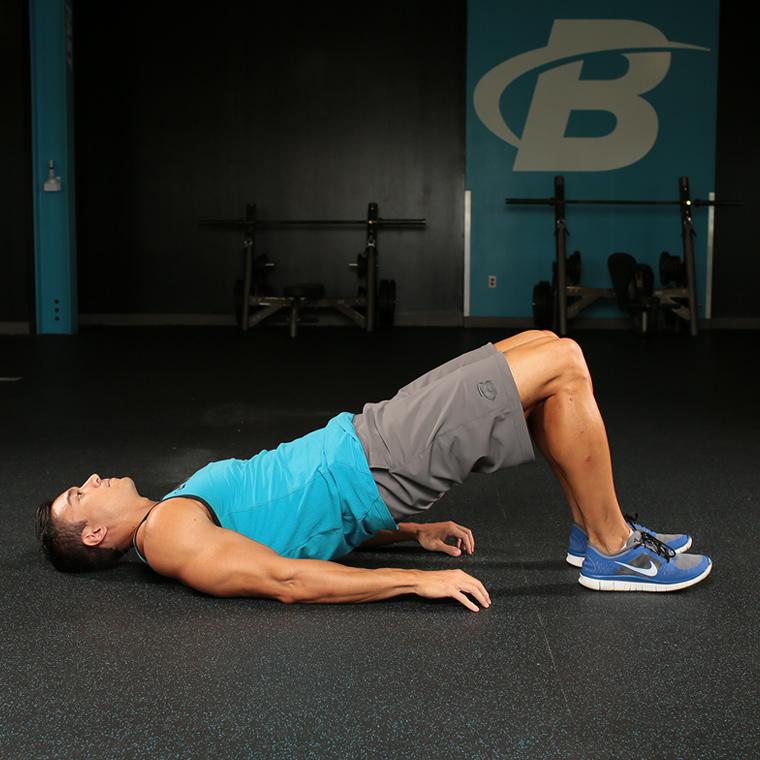 臀橋腘繩肌訓練