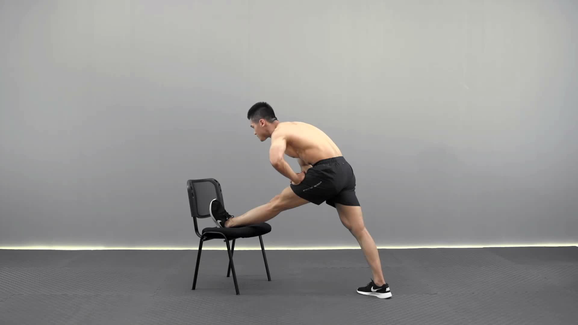 椅子架腿压 L