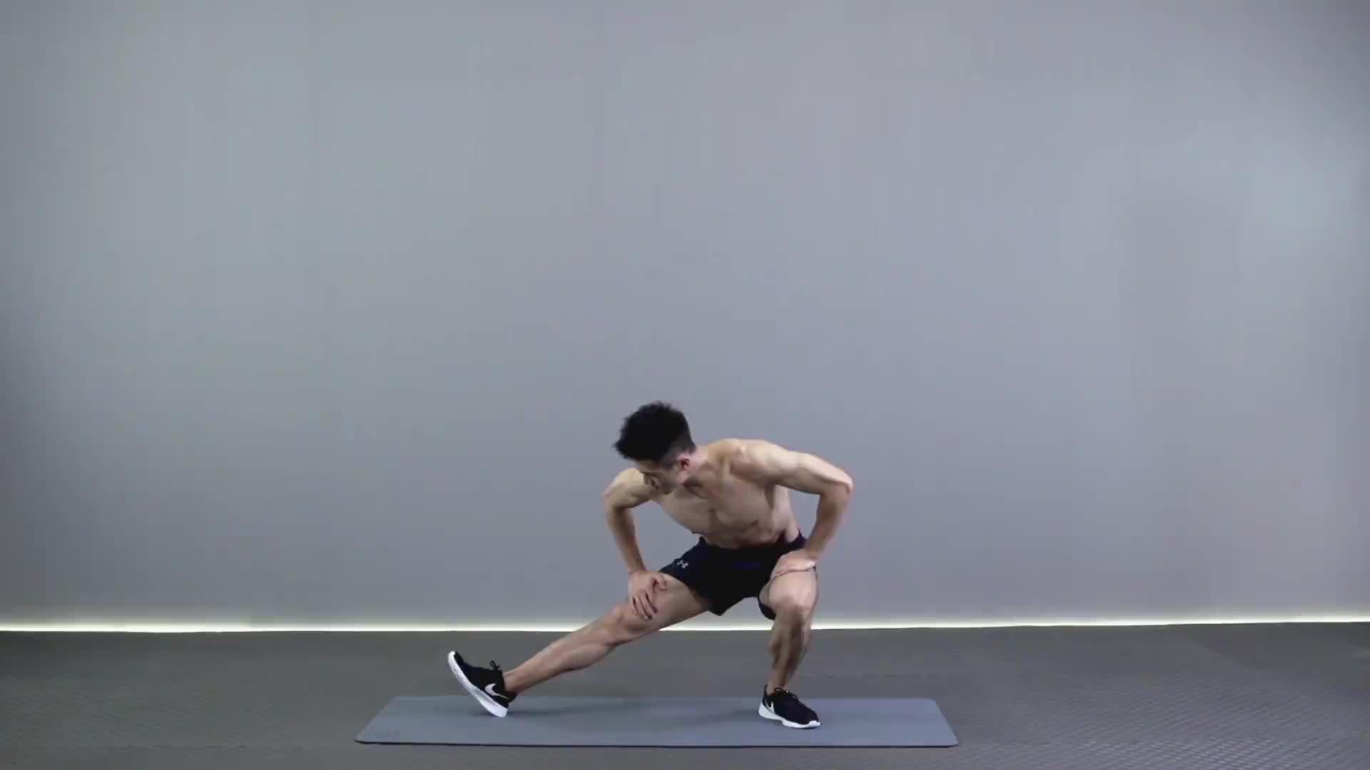 大腿内侧拉伸 R