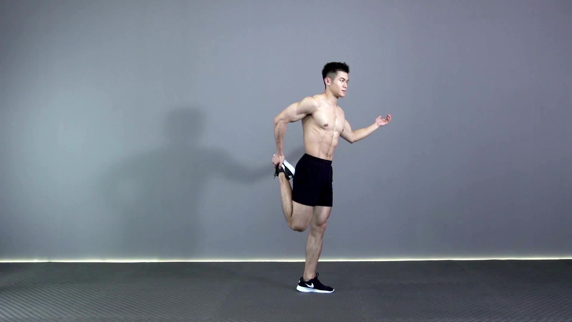 大腿前侧拉伸 R